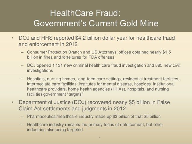 Handling a Health Care Fraud Investigation (2013 Compliance Institute…