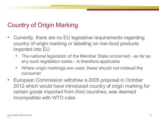 Customs - How to determine the origin of your products - EU Webinar (…