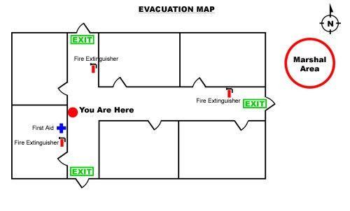 fire evacuation plan template - thebridgesummit.co