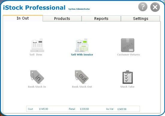 Inventory Control Software - Stock,Invoice, Barcode NEW | eBay