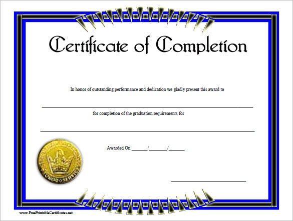 6+ Work Completion Certificate Formats In Word - Website ...