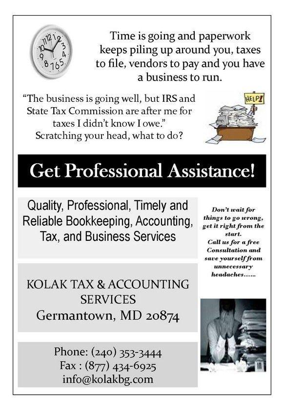 Kolak Tax and Accounting Services, USA