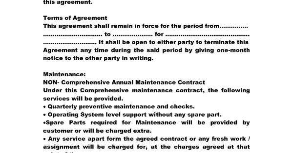 Service Contract Samples  BesikEightyCo