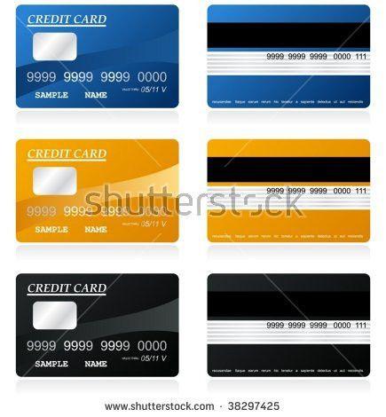 Vector Credit Cards Platinum Gold Stock Vector 24230467 - Shutterstock