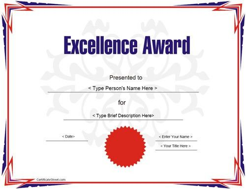 Award Certificate Template - 14+ Download in PSD, PDF
