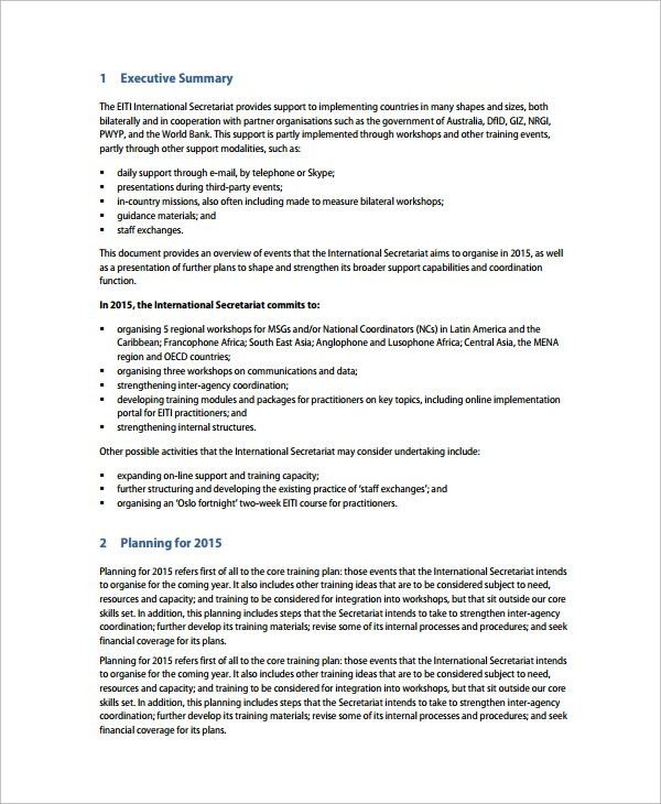 Training Agenda Sample   7+ Documents In PDF