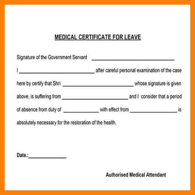 4+ sickness certificate format   simple cv formate