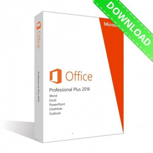 Buy Microsoft Office 2016 Professional Plus [Product Key & Download]