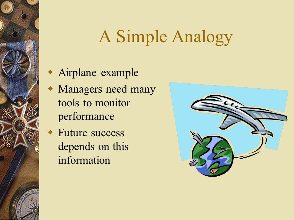 A Simple Analogy Airplane example - ppt video online download