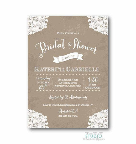 Discount Bridal Shower Invitations | badbrya.com