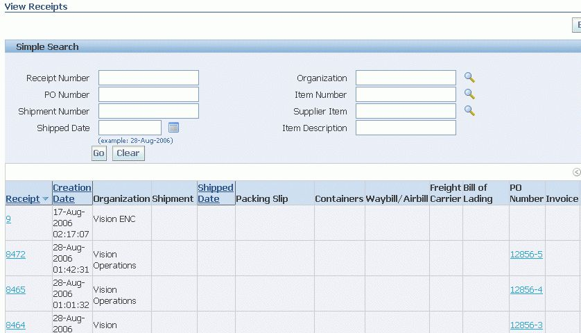 Oracle iSupplier Portal User's Guide