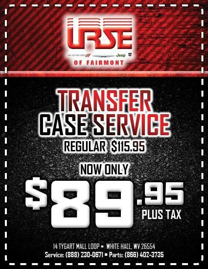 Car Service Specials in White Hall | Urse Dodge Chrysler Jeep Ram ...