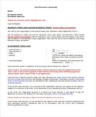 Letterhead Example - 7+ Free Documents in Word, PDF