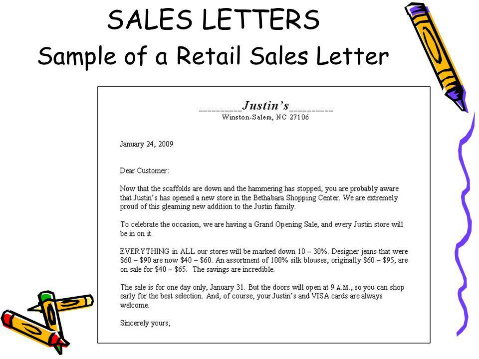 SALES AND PUBLIC RELATIONS LETTERS - ppt video online download