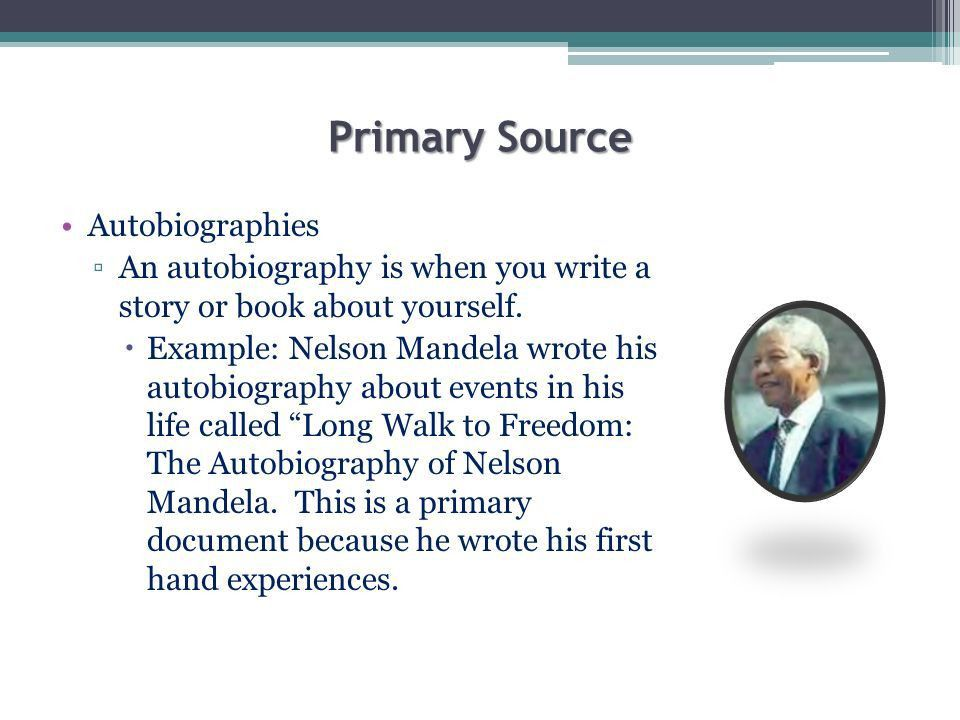 Lesson 2 – Primary and Secondary Sources SS.6.W ppt download