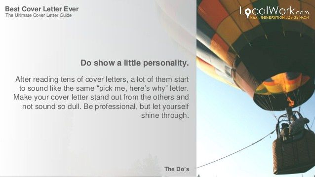 The Ultimate Cover Letter Guide