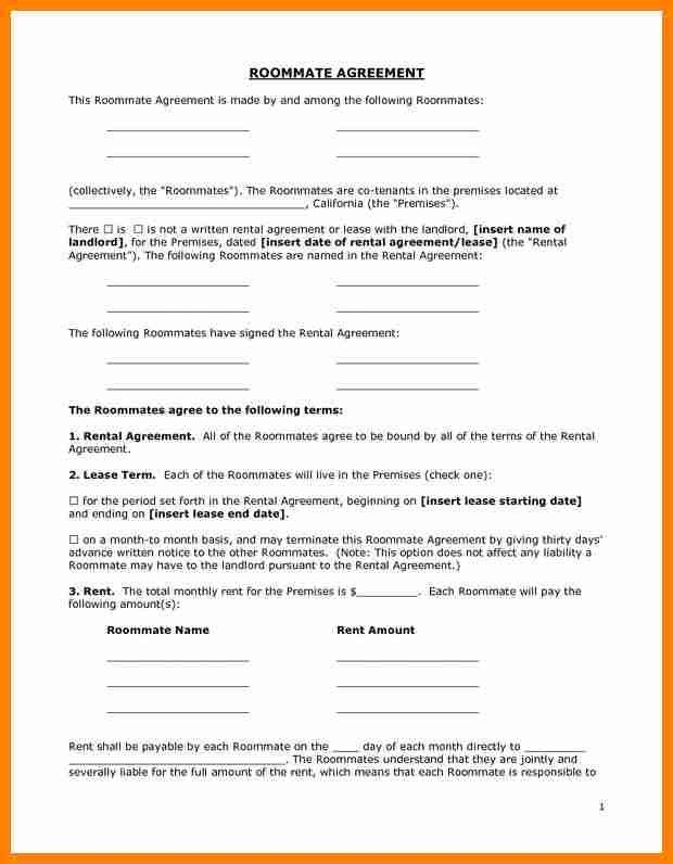 7+ free room rental lease agreement template | job resumed