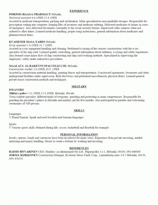 Truck Driver Resume Sample 8 Truck Driver Resume Sample Template ...