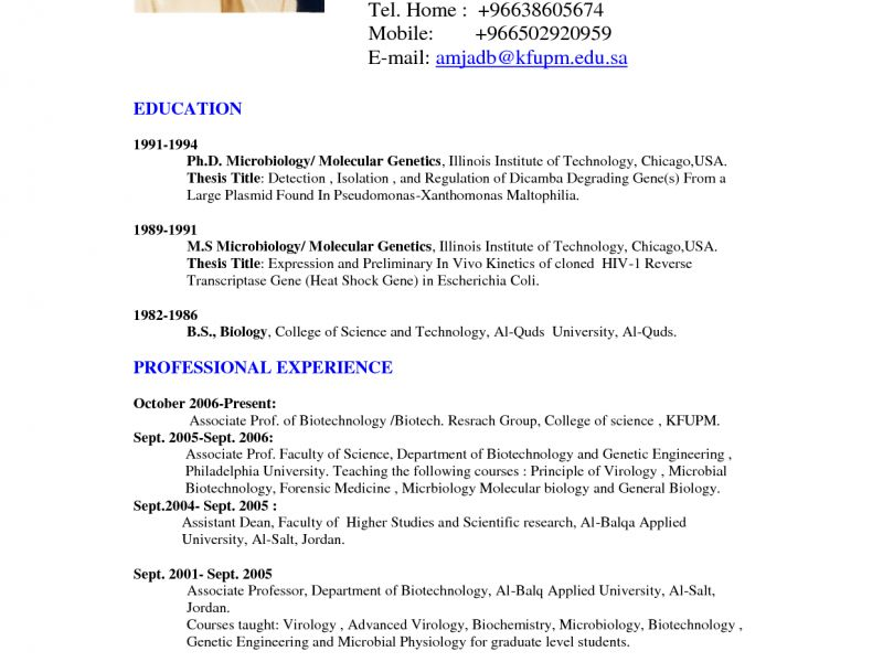resume samples doc file