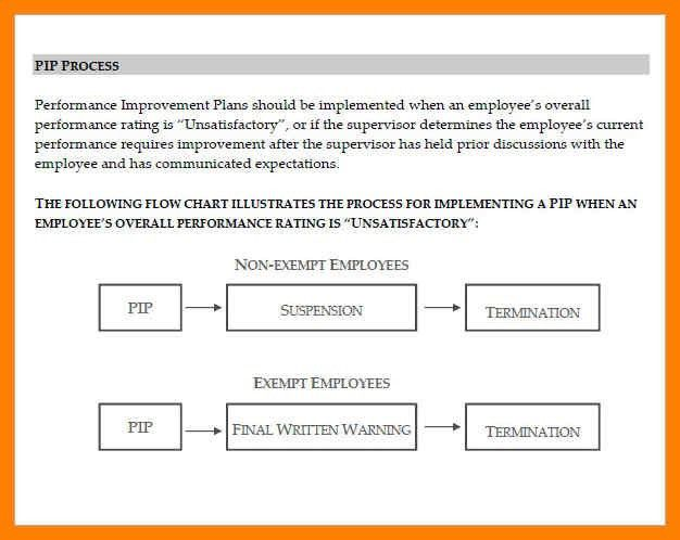 9+ employee performance improvement plan template | delivery challan
