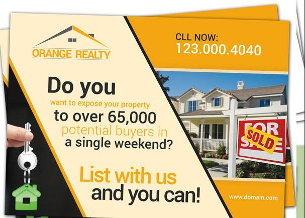Every Door Direct Mail (EDDM) for Real Estate Agent Realtor