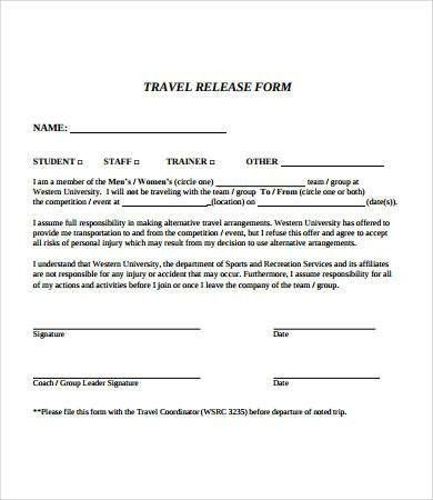 Release Form template - 10+ Free PDF Documents Download | Free ...