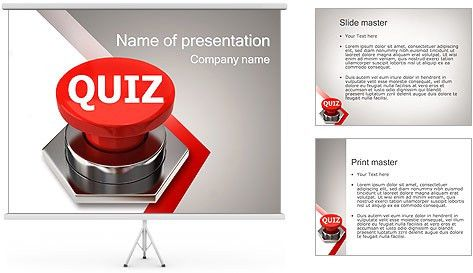 quiz powerpoint template free download quiz tabs a powerpoint ...