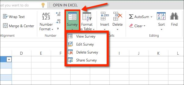 How to Collect Data with an Excel Survey & Office 365 Education ...