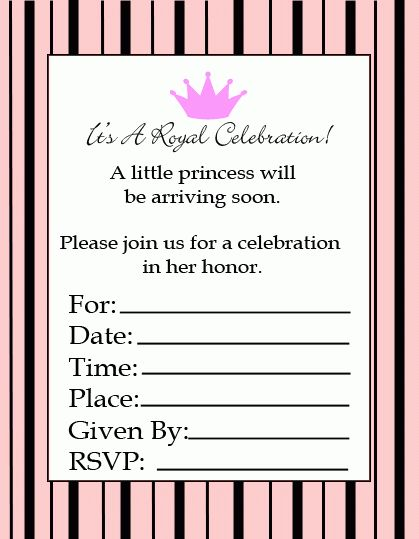 Free Printable Baby Shower Invitations - Cute and Easy!