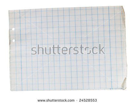 Old Square Lined Paper Note Book Stock Photo 16678990 - Shutterstock