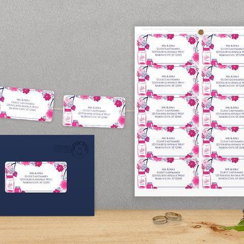 Pink Wedding Templates