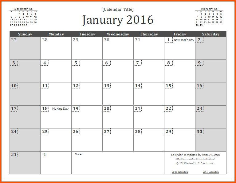 12+ office calendar template | Survey Template Words