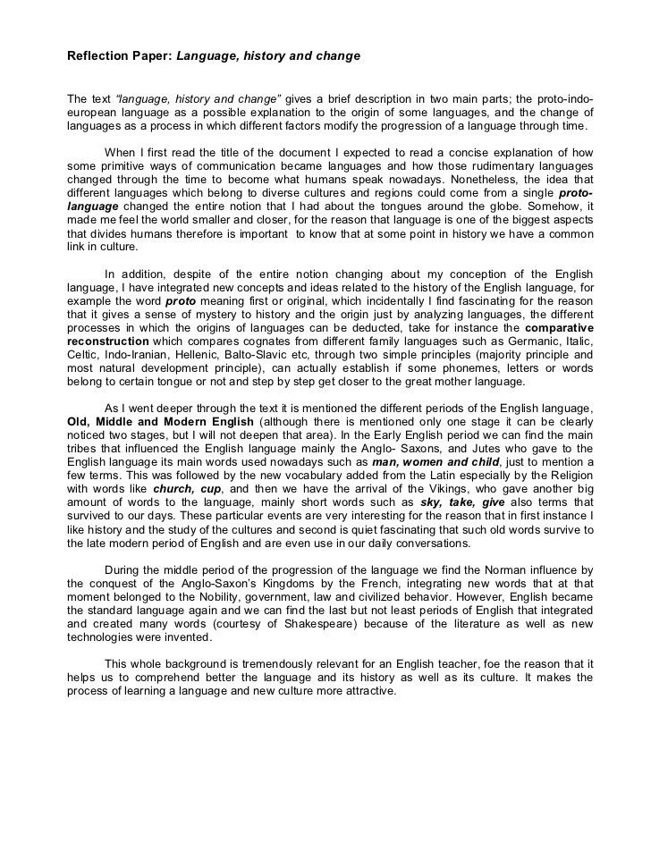 paper 1 language, history and change