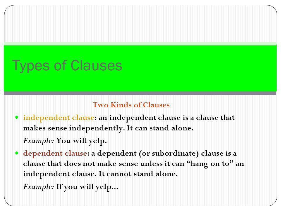 Grammar Level 4: Clauses - ppt download