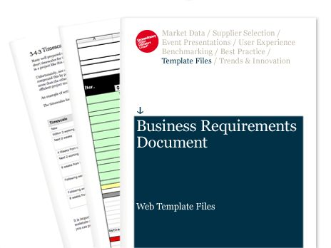 Business Requirements Document - Web Template Files | Econsultancy