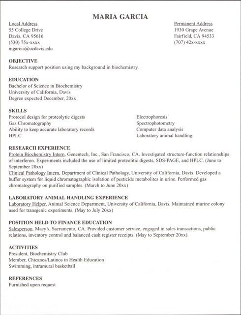 Download Internship Resume Examples | haadyaooverbayresort.com