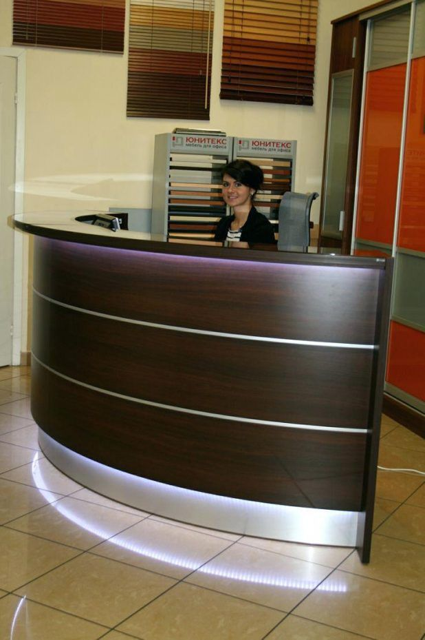 Office Design : Second Hand Office Furniture Reception Desk ...
