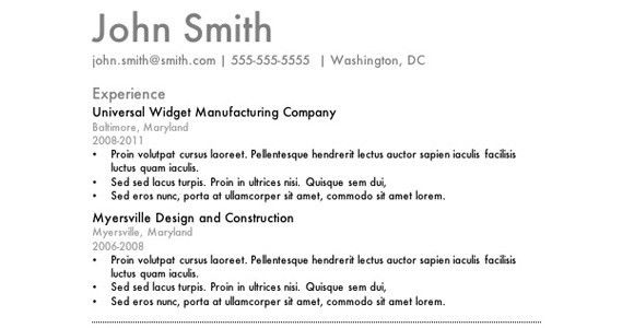 Resume Examples. 10 best ever perfect pictures and images as good ...