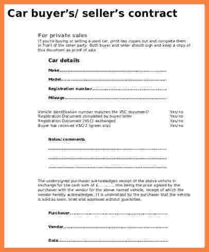 take over car payment contract template