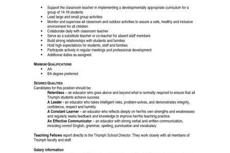 resume for teachers with experience category specialist sample ...