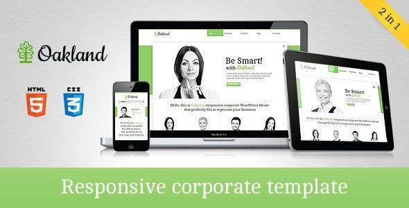 Top 25+ Corporate HTML5 Website Templates - DesignMaz
