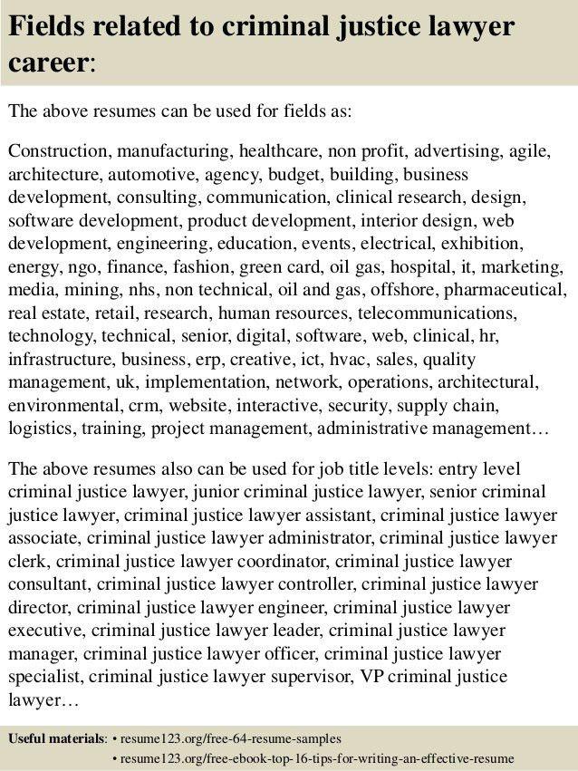 criminal justice resume sample law resumecompanioncom. share ...