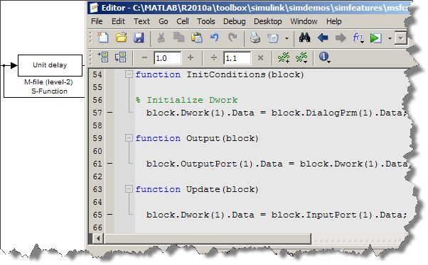 Including MATLAB code in a simulation » Guy on Simulink