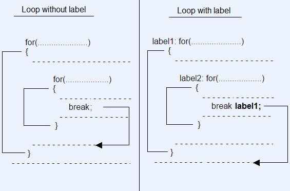 Java Labelled Loop with Example