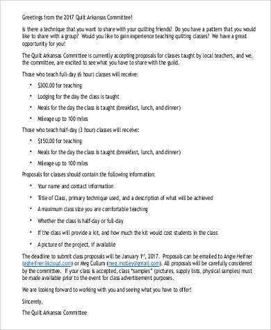 Proposal Letter PDF