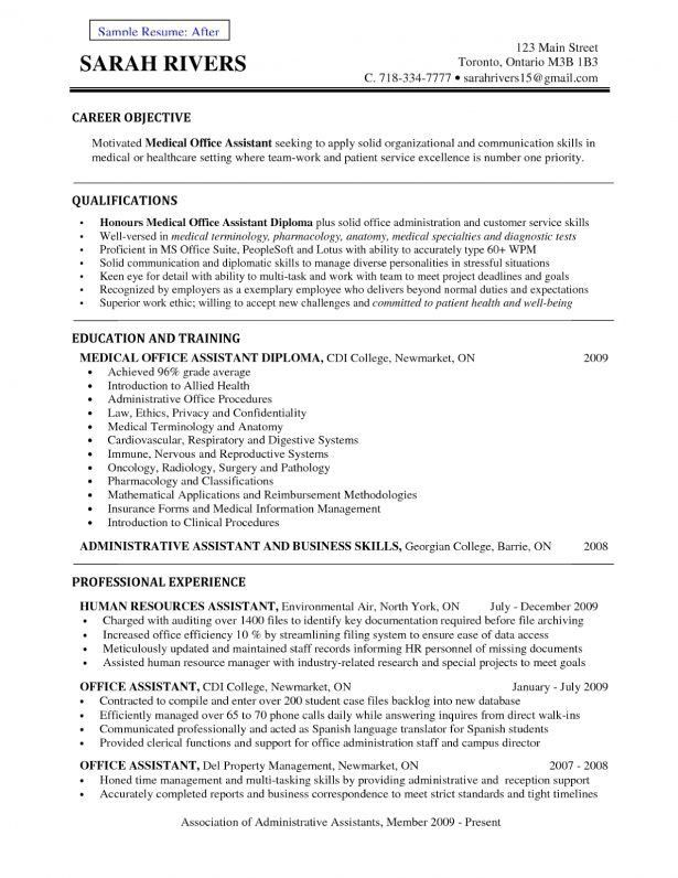 Resume : Example Of Career Objective In Resume Resume Form ...