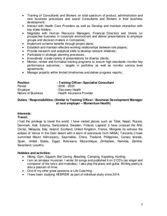 Resume 2015 with Cover Letter