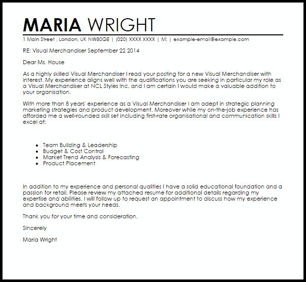 resume for merchandiser internship resume cover letter mind ...