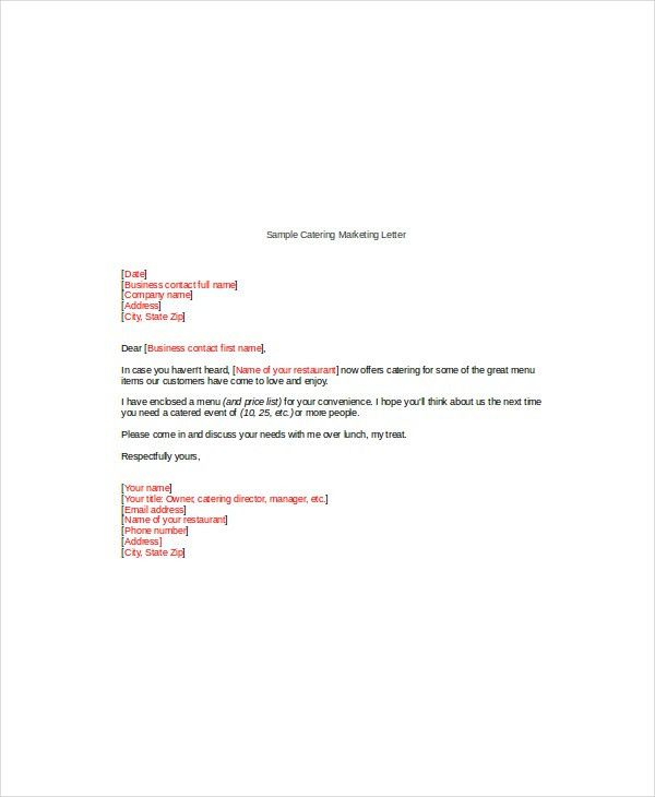 Catering Proposal Letter. Charity Event Proposal Example - Google ...