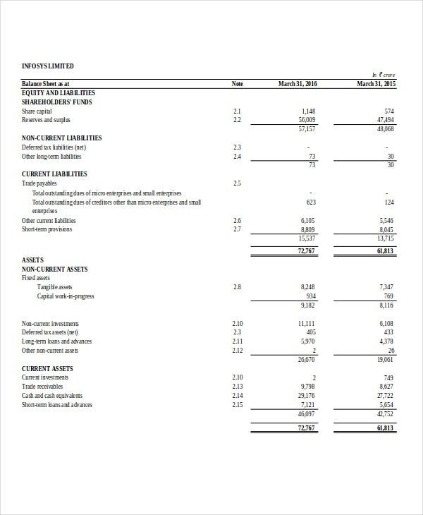 10+ Company Sheet Templates - Free Sample, Example Format Download ...